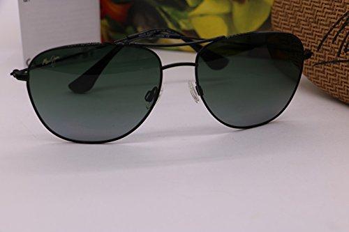 65115be092d Image Unavailable. Image not available for. Colour  Maui Jim HTS247-02  Cliff House Aviator Polarized Titanium Sunglasses