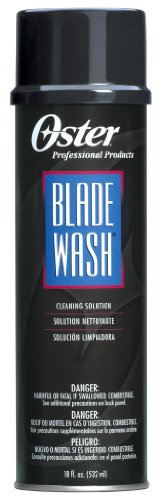 (Oster Blade Wash Cln' Solution 18 oz. (Pack of 2))
