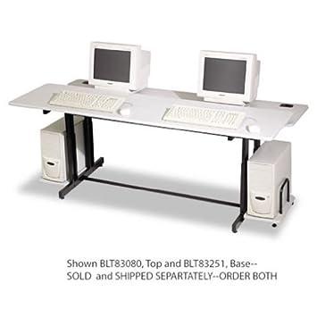 Wonderful BLT83251   Balt Split Level Computer Training Table Base