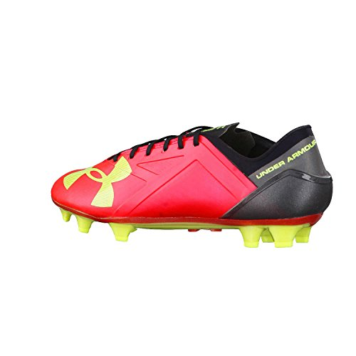 Spotlight Under Red ball Rocket base Black Yellow Armour High uomo scarpa Vis FG T11ORwqt