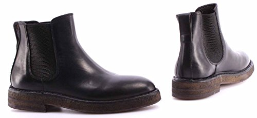 Zapatos Mujer Botines MOMA Ankle Boots 72506-TA Hannover Nero Negro Vintage ITA