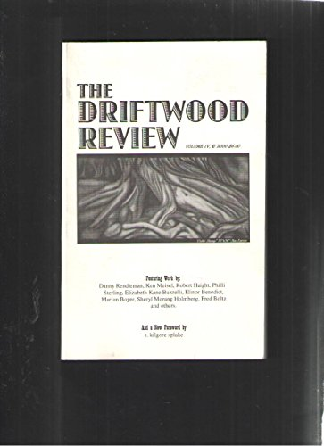 The Driftwood Review  A Review Of Michigan Writing  Volume Iv