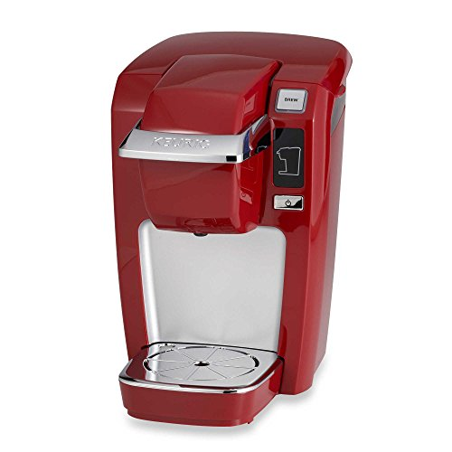 Compact Design Keurig® K10/K15 Brewing System Perfect for smaller spaces, dorms, offices, or vacation homes (Red) (Office Pod)