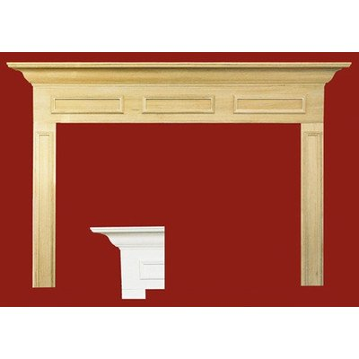 Litchfield II MDF Primed Fireplace Mantel Surround Fireplace Insert Size: 36
