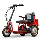 E-Wheels EW-04 MINI SCOOTER Electric 3 Wheeled Pediatric & Short Statured Adult Mobility Scooter - Power: Electric 48Volt - Motor Type Brushless Hub Motor by Saferwholesale