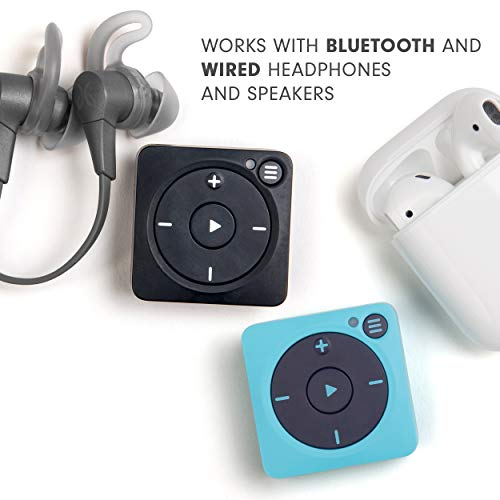 Mighty Vibe Spotify and Amazon Music Player – Bluetooth & Wired Headphones – 1,000+ Song Storage – No Phone Needed…