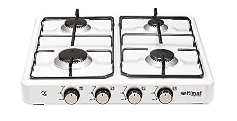 Slim Lux 4 quemadores GLP Cocina de gas 4010 - itimat ...