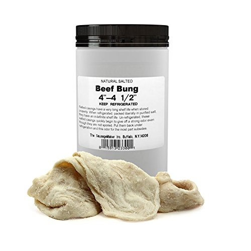 TSM Natural Beef Bung, 102-114mm (4''-4 1/2'') by The Sausage Maker