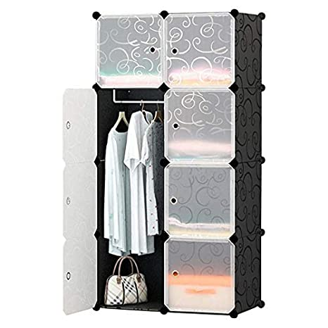 3c53472d5a Amazon|KOBE STORE 組み立て式クローゼット 最新型 収納家具 DIY 自由 ...