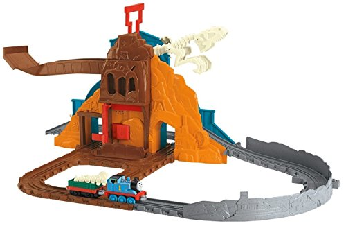 Fisher-Price Thomas The Train: Take n' Play Roaring Dino Run (Thomas And Friends Train Play Set)
