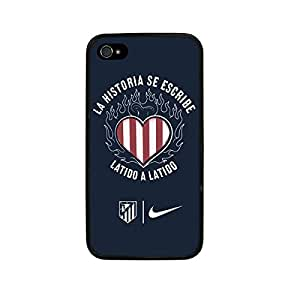 GEL TPU CASE COVER FITS APPLE IPHONE 4 - 4S FOOTBALL by ruishername