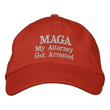 Amazon.com  Make America Great Again Hat Donald Trump MAGA Adjustable  Baseball Cap 2020 USA (Attorney)  Clothing 8e7de572344a