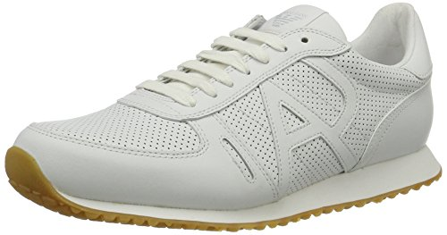 Basses Weiß 9350277p423 Homme Sneakers Armani Jeans bianco XHwRtt