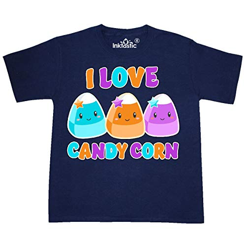 inktastic - I Love Candy Corn- Cute Youth