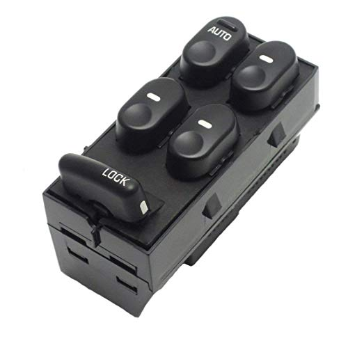 Driver Side Master Power Window Switch 10433029 19244641 for 1997-2005 Buick Century | Regal