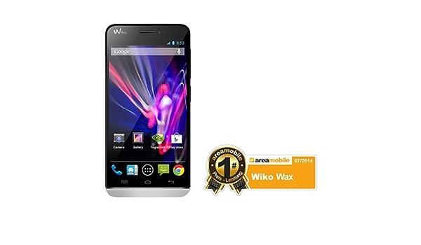Wiko Wax - blanco - 4G HSPA+, FD-LTE - 4 GB - GSM - smartphone : Amazon.es: Música