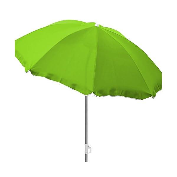 mojawo® Spiaggia Ombrellone Ombrellone Mare Protezione Solare da Giardino Ombrello Parasole Protezione knickbar… 1 spesavip