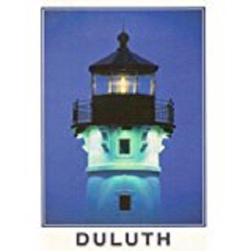 Unused Postcard Duluth Harbor Minnesota Lake Superior Lighthouse