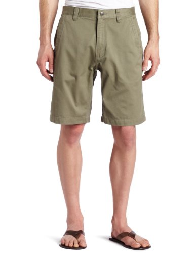 Mountain Khakis Men's Teton Twill Short Relaxed Fit, Olive, 36