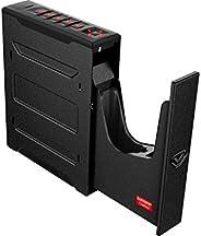 Vaultek Slider Series Rugged Bluetooth Smart Handgun Safe Quick Open Pistol Safe with Rechargeable Li-ion Batt