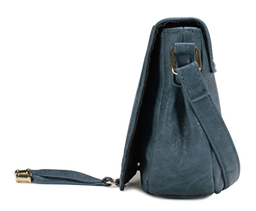 H1958 Style Blue Scarleton Horseshoe Bag Crossbody fSnwxOq6