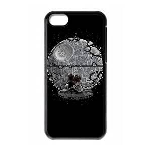 Iphone 5C 2D Custom Phone Back Case with The Death Star Image