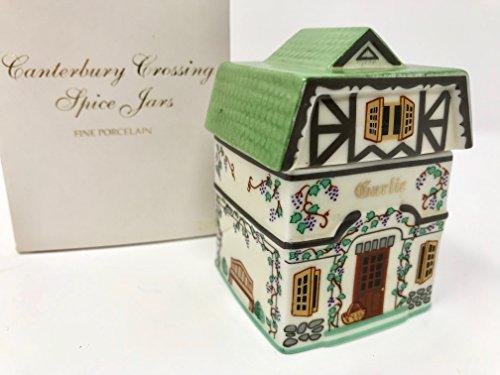 (Lenox 'Spice Village' Porcelain Victorian House Spice Jar - Cinnamon …)