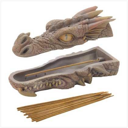 Dragons Head Incense Burner Sandalwood Incense Sticks