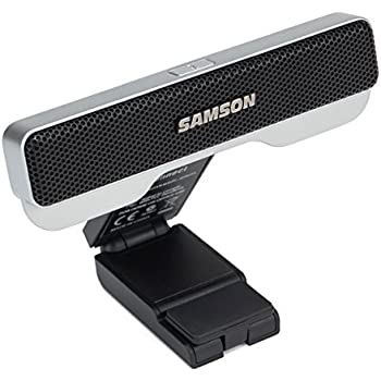 Samson Go Mic Connect USB Microphone with Focused Pattern Technology, Silver