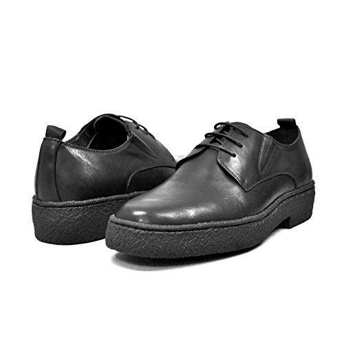 Original Leather Jump Boot (British Collection - Original Playboy Low Cut Leather Black Shoes 11)