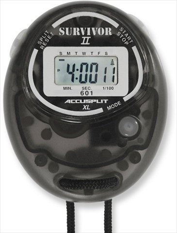 Survivor II Stopwatch Color: Smoke by ACCUSPLIT