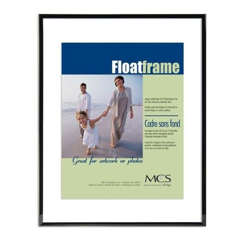 Double Sided Glass Frame (Original Float Double Sided Frame, Black)