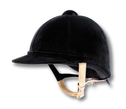 Owen Charles Cap - Charles Owen - Horse Riding, Cap Hampton Velvet, Original Product - Green, 7 1/4 (59)