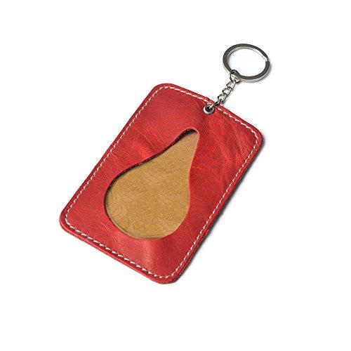 The+Caillu+Leather+Slim+Key+Ring+Card+Purse+Credit+Card+Holder+Id+Card