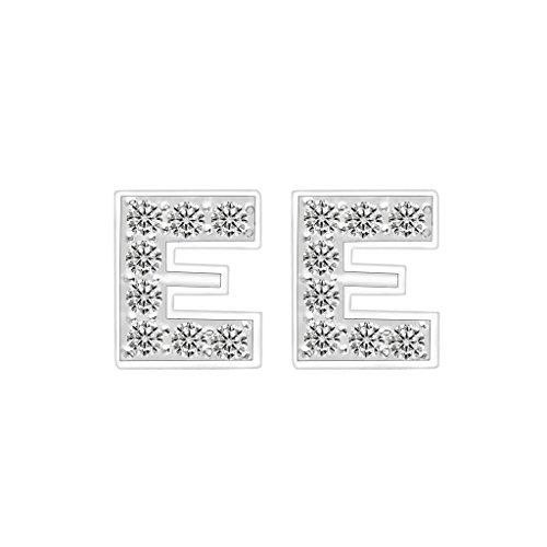 EVER FAITH Sterling Zirconia Alphabet