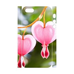 Iphone 5,5S Beautiful Flowers 3D Art Print Design Phone Back Case Hard Shell Protection YT109589