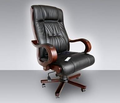 Bürosessel holz  Leder Chefsessel Massagesessel Direktorensessel Bürosessel