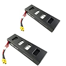 sea jump RC parts 2pcs 7.4V 1800mAh Battery for mjx B3 Bugs 3 RC quadcopter drone spare parts , 2 batteiies