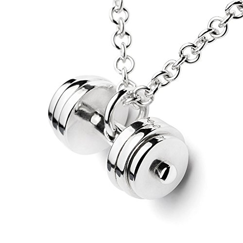 sterling-silver-triple-plate-dumbbell-necklace-pendant-fitness-gym-jewelry