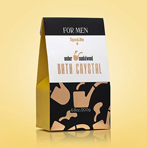 Spa Life All Natural Bath and Body Luxury Spa Gift Set Basket (Mens Sandalwood) 5