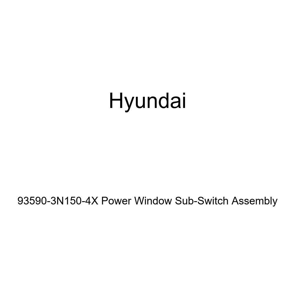 Genuine Hyundai 93590-3N150-4X Power Window Sub-Switch Assembly