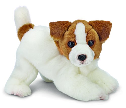 "(Bearington Jack Russell Terrier Plush Stuffed Animal Puppy Dog 13"")"