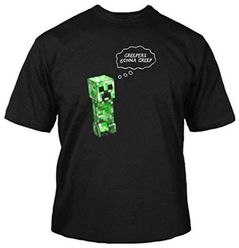 Jinx Official Licensed Minecraft Creepers Gonna Creep Men's T-Shirt