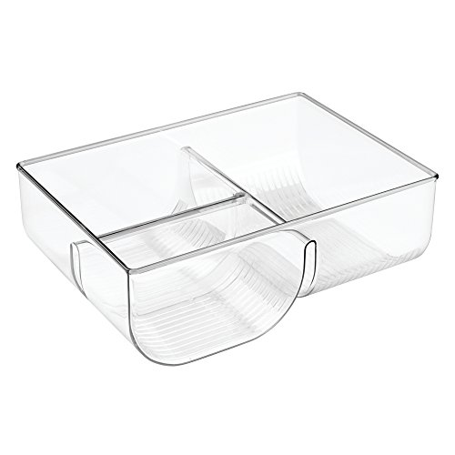 InterDesign Linus Lid Organizer for Kitchen Cabinet, Pantry