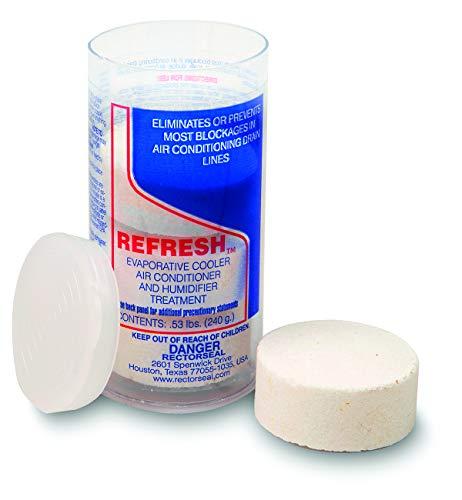 Rectorseal 68114 Refresh Evaporative Cooler, A/C Humidifier Tablets-4 Tablet Tube (Evaporative Cooler Cleaner)