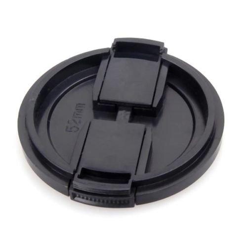 yan_ Black Snap-On 52mm Lens Cap for Canon EF 50mm f/1.8 II EF