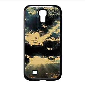 Overcast Day Watercolor style Cover Samsung Galaxy S4 I9500 Case (Sun & Sky Watercolor style Cover Samsung Galaxy S4 I9500 Case)