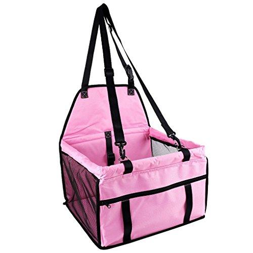 Cocoray Waterproof Pet Dog Puppy Cat Carrier Safe Carry Bag Basket Kitten Car Travel Blanket