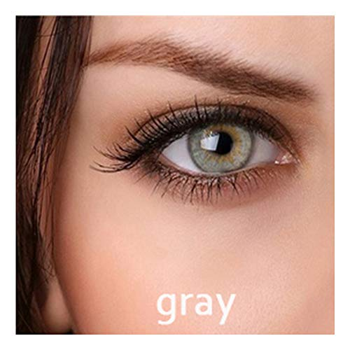 Blue Color Change One Set Include (1 color eyes +1 eyelashes) (Gray)