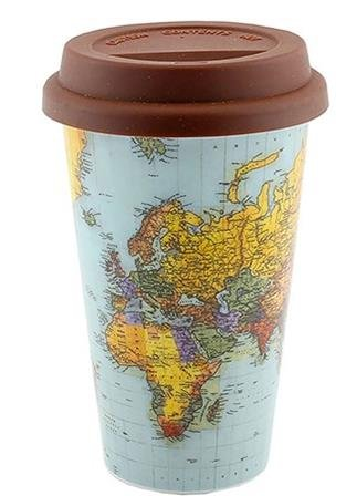 World traveller travel mug with silicone lid amazon kitchen world traveller travel mug with silicone lid gumiabroncs Image collections